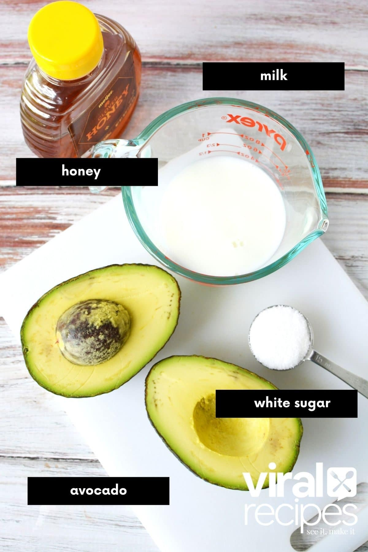 avocado ingredients image with titles.